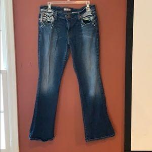 Levi's super low bootcut 518 jeans size 13.